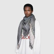"""NWT 2019 GUCCI GG jacquard rainbow x-large scarf shawl 51"""" x 51"""";  $620 - $479.99"""
