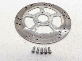 Harley Davidson Rc Components Venom Chrome Front Brake Rotor Wheel - $117.95