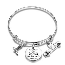 SEIRAA Trucker Girl Jewelry Truck Lover Gift It's My Truck No You Can't ... - $15.09