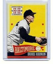 BROOKS ROBINSON - BALTIMORE ORIOLES - 2013 PANINI HOMETOWN HEROES - CARD... - $1.95