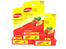 3 Pack Carmex Daily Care.15 oz Lip Balm SPF 15 New Sealed  - $9.73
