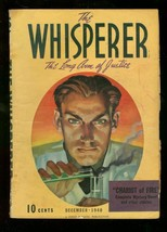 Whisperer Pulp Dec 1940 Chariot Of Fire Street & Smith Vg - $212.19
