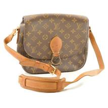 LOUIS VUITTON Monogram Saint Cloud GM Shoulder Bag M51242 sa2111 Sticky - $425.86
