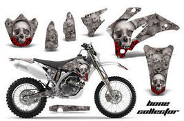 Amr Racing Mx Dirt Bike Decal Sticker Graphic Skull Yamaha Wr 250/450F 07-11 Bcs - $169.95