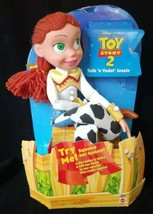 Disney Toy Story 2 Talk and Yodel Jessie 16in Talking Plush Doll New - $33.65