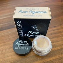 Wunder2 PURE PIGMENTS Fine Loose Powder - Sunkissed Gold .04oz NEW Sealed  - $8.90