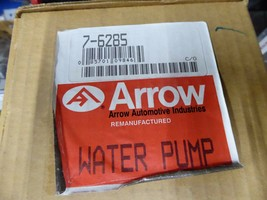 16100-28020 Toyota Water Pump Remanufactured By Arrow 7-6285 image 2