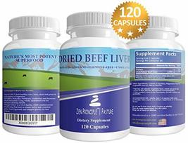 Grass Fed Desiccated Beef Liver Capsules - $26.99