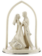 Lenox Forever Yours Bride & Groom Cake Topper Wedding Promises New In Box - $62.90