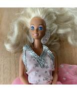 1988 Mattel SUPER STAR BARBIE Doll #1604 in Original Outfit  - $29.99