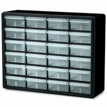 Akro-Mils 10724 24-Drawer Plastic Parts Storage Hardware and Craft Cabin... - $41.69