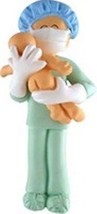 NEW DAD ORNAMENT LABOR ROOM NEWBORN FIRST BABY GIFT CHRISTMAS PERSONALIZ... - $13.81