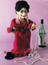 CROCHET CELEBRATIONS DOLLS DAME DOROTHY MM851 - $7.50