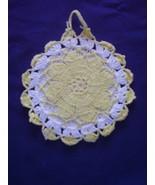 Vintage - Crochet Pot Holder - $5.00