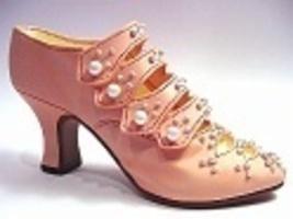 Promenade in Peach Victoria's Sister Pearl and Rhinestones Just the Righ... - $32.99