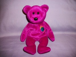 TY Beanie Babies Millennium Bear With Tush Tag Only 1999 - $2.48