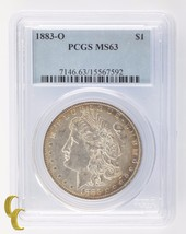 1883-O Silver Morgan Dollar $1 PCGS Graded MS 63 - $69.29