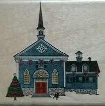 Charles Wysocki CHURCH Rubber Stampede Stamp 343-E Unused Christmas - $22.28