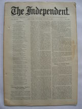 The Independent Vol XLVIII August 13, 1896 No. ... - $25.00