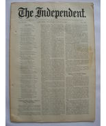 The Independent Vol XLVIII August 13, 1896 No. 2489 - $25.00