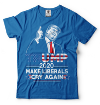 Donald Trump Maga T-shirt Funny 2020 Elections Make Liberals Cry Again T... - $26.90