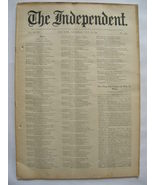 The Independent Vol XLVIII July 16, 1896 No. 2485 - $25.00