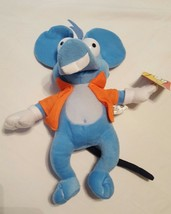 """The Simpsons Itchy and Scratchy Show Plush Blue Mouse Nanco 13"""" NWT 2006... - $19.15"""