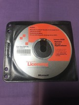 Microsoft Forefront Security For Exchange Server Licensing Disk January ... - $61.75