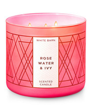 White Barn Rose Water & Ivy Three Wick 14.5 Ounces Scented Candle - $22.49
