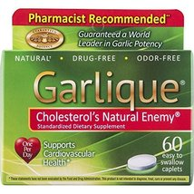 Garlique Dietary Supplement Caplets, 60 Count - $20.77
