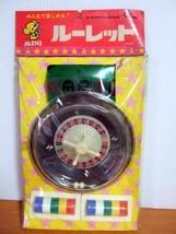 Mini Roulette Nintendo Nichiten 1975 Japan Ungebraucht - $74.43