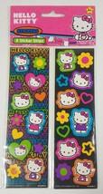 Hello Kitty Autocollants Neon 8 Sticker 5 Strips Sanrio 2013 - €3,45 EUR