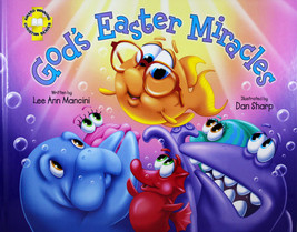 God's Easter Miracles Hardcover Book Adventures of the Sea Kids Series - $16.05