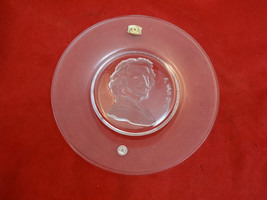 Glass Plate with Face of A. Van Dyke made in Be... - $10.80