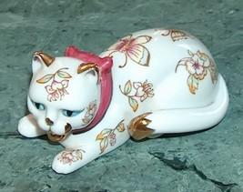 Franklin Mint Satsuma Cat Figurine - $22.00