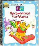 Winnie the Pooh The Sweetest Christmas Little Golden Book 1997 - $20.00
