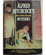 Alfred Hitchcock's Solve-Them-Yourself five MYSTERY CASES w/ dust jacket... - $16.00