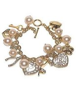 Drama Queen Celebrity Euro Hi Heel Shoe Charm Bracelet - £14.67 GBP