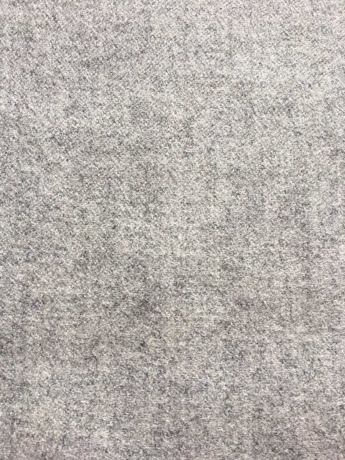 1.5 yds Woven Wool Upholstery Fabric Mid Century Gray Melange RU