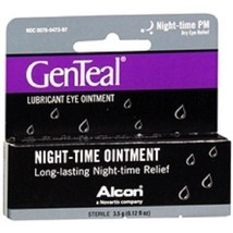 GenTeal Night Time PM Lubricant Eye Ointment .12 fl oz (3.5g) - $15.79