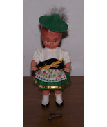 Sweetheart Wind Up Dancing Doll Austrian Costume - $35.00