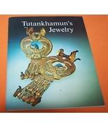 Tutankhamun`s Jewelry Book And 4 Post Cards 76P - $15.00