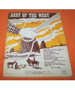 The Best Of The West Music Book Country & Western Hits - €8,94 EUR