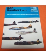 RAF Bombers Part 1   WW2 Aircraft Fact Files 76P - $10.00