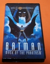 Vintage VHS Movie  Batman Mask Of The Phantasm  77 Min. - $10.00