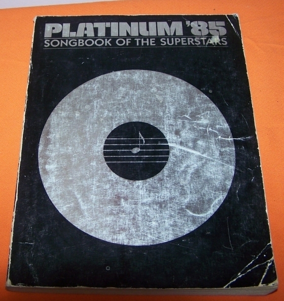 Primary image for Platinum 85 Song Book Of The Supers Music Book 288 Page
