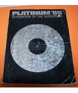 Platinum 85 Song Book Of The Supers Music Book 288 Page - $10.00