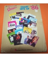 Complete Chart Hits Of 86 Music Book 223 Page - $10.00