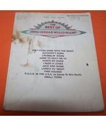 John Cougar Mellencamp Music Book 57 Page - $10.00
