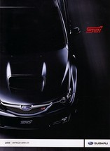2008 Subaru IMPREZA WRX STi sales brochure catalog 08 US WRC - $10.00